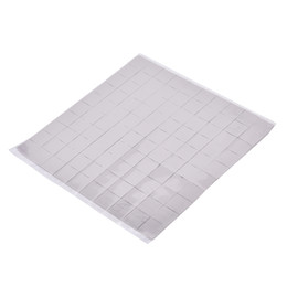 cool pads UK - Durable Silicone 100mm*100mm*1mm Thermal Pad GPU CPU Heatsink Cooling Conductive Silicone Pad