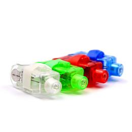$enCountryForm.capitalKeyWord UK - Novelty Kids 4 Mixed Color LED Flashing Finger White Flashlight Lights Lamp Toy Glowing Luminous Light up Finger Ring Toys