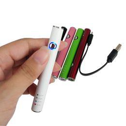 E cigarEttE max battEry online shopping - Multi voltage Max Preheat Battery with USB Charger E Cigarette Strater Kit Co2 Vape Oil Cartridge Battery O Pen Vape