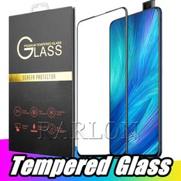 smart screen protector iphone NZ - NEW Full Coverage Tempered Glass Phone Screen Protector For iPhone Xs Max Xr X 8 7 Plus Huawei P30 lite P SMART 2019 Samsung S10 E A9 Star