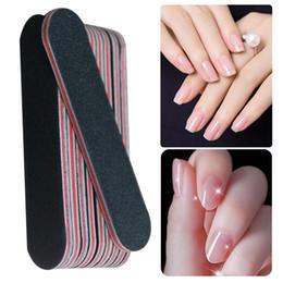 Uv Block Australia - 10pcs Washable Nail Files Buffer Block Sanding Sponge Black Emery Board Sandpaper UV Gel Polish Manicure Tool Accessories