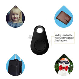 Cell phone finder alarm online shopping - Smart key finder BT locator tracker Anti lost alarm child tracker Remote Control Selfie for iPhone IOS Android key ITags custom design