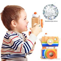 $enCountryForm.capitalKeyWord Australia - Cute Nordic Hanging Wooden Camera Toys Kids Toys Gift 9.5*7*5cm Room Decor Furnishing Articles Christmas Gift For Kid Wooden Toy
