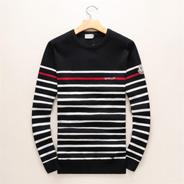 $enCountryForm.capitalKeyWord Australia - Men's Black Striped Knit Wool Tiger Embroidered Sweatshirt Man Brand Women Sports Sweater Coat Jacket Pullover Designs Cardigan #878
