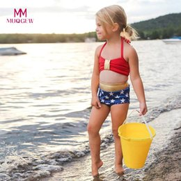 $enCountryForm.capitalKeyWord NZ - MUQGEW 2019 New Summer Bathing Suit Infant KidS Baby Girl Swimwear Star StrapS SwimSuit Bathing Set Beach Beachwear Suit