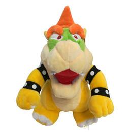 $enCountryForm.capitalKeyWord Australia - 25cm Super Mario Bone Kubah Dragon Koopa Bowser Plush Toy Children Cartoon Soft Plush Stuffed Dolls Yellow Bowser
