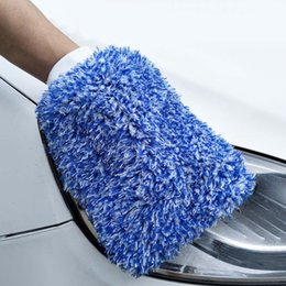 $enCountryForm.capitalKeyWord Australia - Car Cleaning Gloves Soft Absorbancy Glove Auto Detailing Microfiber Washing Gloves Automotive Washing Care