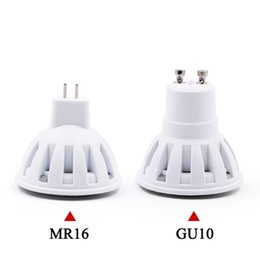 Chinese  EnwYe LED Lamp GU10 MR16 LED Bulb 2W 3W 4W 5W 6W 220V Lampada LED Condenser Lamp Diffusion Spotling energy Saving home Lighting manufacturers