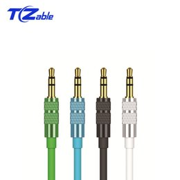 Car Stereo Output Australia - 3. 5MM To 3. 5MM Audio Extension Cable Male To Male Cable Connection Cable For Mobile Phone Car Ntebook AUX Output Audio Line