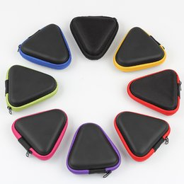 $enCountryForm.capitalKeyWord Australia - Compact Triangle Multi color Fidget Spinner Pouch Hand Spinner Toys Bluetooth Headset Storage Bags Compressive Container Portable Cases