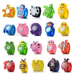 Großhandel Kinder Uhren 3D Cartoon Kinder Armbanduhren Uhr Quarz Uhren für Mädchen Jungen Geschenke Relogio Montre Baby Kinder Slap Cartoon Uhr
