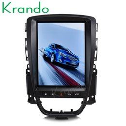 "Opel Stereos Australia - Krando Android 7.1 10.4"" Tesla Vertical screen car dvd radio gps player for Buick Excelle for Opel Astr J 2010-2014 multimedia system"