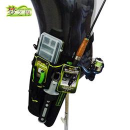 Waist Lure Australia - Dream Fishing 19*6*33cm Fishing Bag+Lure Box Waist Leg Bag 1200D Nylon Army Green Outdoor Rod Tools Storage Case Blosa #885983
