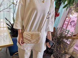 $enCountryForm.capitalKeyWord Australia - Hot sale Womens ys fashion Genuine Leather Shoulder bag Womens small totes shoulder bag for girls Chain handbags wholesale