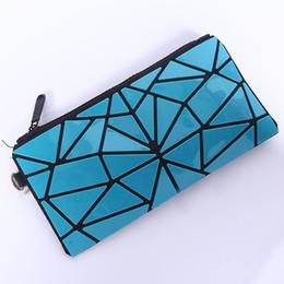 $enCountryForm.capitalKeyWord NZ - Designer-New Arrival Designer Wallet For Women Ladies Geometric Purse Folding PVC Cosmetic Makeup Bag Coin Designer Purses