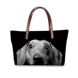 2c5ed3dd9a Red patent clutch bag online shopping - WHOSEPET Handbag Women D Dog Paern  Top handle Bags
