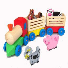 $enCountryForm.capitalKeyWord Australia - New wooden toy Wooden train for transport farm animals