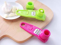 Garlic Gadgets Australia - Useful Multifunctional Ginger Garlic Press Grinding Grater Planer Slicer Mini Cutter Cooking Gadgets Tools Kitchen Accessories p