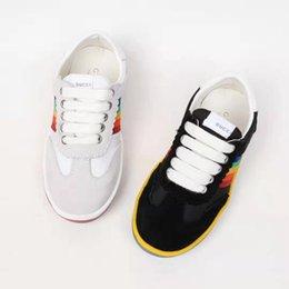 $enCountryForm.capitalKeyWord Australia - G designer kid shoes for boys autumn walking sneakers rainbow fashion designes little girl brand cheap sneakers Eu 26-35 free shipping
