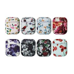 $enCountryForm.capitalKeyWord UK - Fashion new design PU leather protective skin for Airpods drop-proof portable carrying case for Airpod 1&2