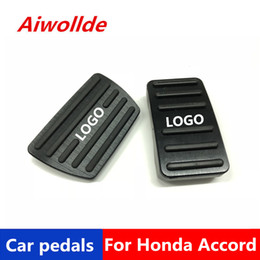 accessories for honda NZ - Auto Accessories Aluminium car pedals For Honda Accord 2018 2019 Accelerator Pedal Brake Pedal Footrest Pedal