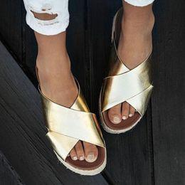 Leopard Sandals Australia - Sexy Leopard Sandals Women Flat Summer Slippers Open Toe Platform Casual Shoes Ladies Outdoor Beach Flip Flops Female Slides