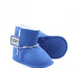 Venta al por mayor de Zapatos de bebé recién nacido Niño Niña Patrón estrella del corazón Los niños primeros caminante niños atan para arriba las zapatillas de deporte de la PU 0-18 Meses