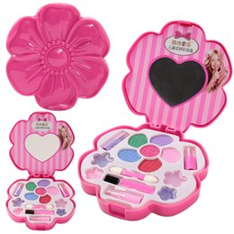 $enCountryForm.capitalKeyWord NZ - New Arrive Children Pretend Play Make Up Toys Pink Cosmetic Beauty Fashion Toy Kits for Girls Birthday Gift 2019