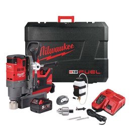 Battery power drills online shopping - Milwaukee M18FMDP C v Cordless Mag Drill With Permanent Magnet Batteries