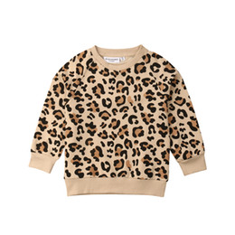 $enCountryForm.capitalKeyWord UK - Baby Girl Boy Bunny Leopard Print Top T-shirt Sweatshirts Clothes