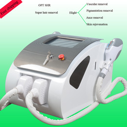 Xenon portable online shopping - 2018 Most popular portable IPL SHR machine home laser hair removal SHR E light Skin Rejuvenation xenon lamp shots