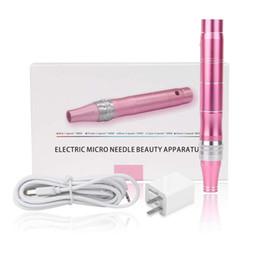 Lip Therapy Australia - Electric Derma Pen 0.25mm-2.0mm Adjustment Auto Micro Needle Roller Pen Anti Aging Skin Therapy Device -Rechargeable Wireless -skin pen