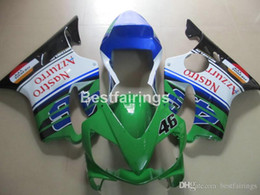 $enCountryForm.capitalKeyWord Australia - 100% fit for Honda injection molded fairings CBR600 F4i 01 02 03 green white blue fairing kit CBR600F4i 2001 2002 2003 HW14