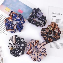 Großhandel Neue einfache Retro Haarbänder Yoga Haar Gummibänder Mode-Partei-Frauen-Haar-Schmuck Luxus Brief elastisches Haar-Band-Zubehör