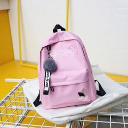 Exo Backpacks Australia - Twice Exo Ateez Monsta X Nct Wanna One Kpop K-pop Women Got7 Sac A Dos Female Backpacks School Bag Pack For Teenager Girls Y19051405