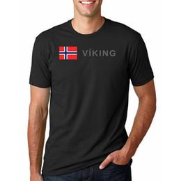 $enCountryForm.capitalKeyWord Australia - Simple Graphic Art T Shirt Mens Viking Maritime Sail Norway Flag Boat Tee Short Sleeve Cotton Cheap Price Clothing