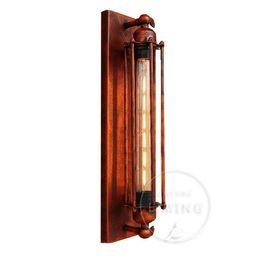 $enCountryForm.capitalKeyWord UK - Retro Industrial Iron Wall Lamp Vintage Edison Bulb Lighting Fixture Wall Sconce T300 Filament Lamp For Bedroom Bar Loft Cafe