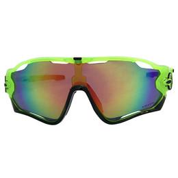$enCountryForm.capitalKeyWord Australia - High quality Designer Sunglasses Fashion Sports Brand Mirror JaowBoreaker Sunglasses Green w Fire Iridium Lens Free Shipping OK62