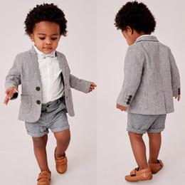 Formal clothes pictures online shopping - Summer Baby Infant Boy Designer Clothes Handsome Boy s Formal Suits For Wedding Prom Dinner Children Wear Jacket Pants