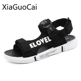 painting sandals Australia - Hand-painted New Summer Men's Sandals Casual Outdoor Mens Outdoors Beach Sandals Non-slip Tide Brand