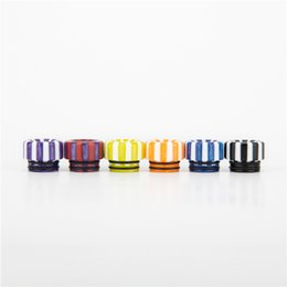 $enCountryForm.capitalKeyWord UK - Newest Resin Candy 810 Drip Tip Colorful Mouthpiece Drip Tip For TFV8 Big Baby Tank And TFV12 Prince Tank