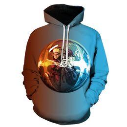 $enCountryForm.capitalKeyWord Australia - 2019 Fashion Wholesales Fashion Clothing Unisex 3D Printing Sweatshirt Pullover Hoodies Custom designer mens S-6XL A7