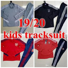 Real madRid socceR jeRsey kids Ronaldo online shopping - 2019 boy Kids tracksuit training suit real madrid Manchester Feyenoord ajax kids United Bayern ronaldo MBAPPE MESSI Soccer jersey