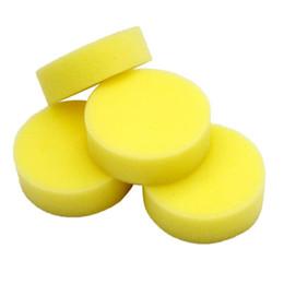 sponge for washing cars 2019 - Buffer Compound Waxing Polishing Wheel Tool Sponge Pad Wax Foam Wash Sponge for Auto Car Polisher Cleaning Vehicle Wash