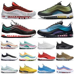 $enCountryForm.capitalKeyWord Australia - New Classic Running shoes for men women Tie Dye Silver Bullet triple black CLEAR EMERALD NEON SEOUL mens trainer fashion sneakers runners