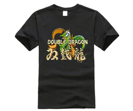 $enCountryForm.capitalKeyWord UK - Double Dragon Inspired Classic Street Arcade Console Fight Game T-Shirt 100% Cotton Top Quality Top Tee T Shirt