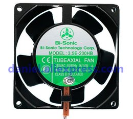 Computer Cabinet fans online shopping - Original Bi sonic E HB V High Temperature Resistant Cabinet Electric Cabinet Fan