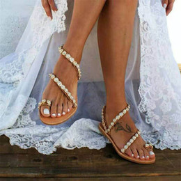 Women Sandals Gladiator 2019 Summer Casual Shoes Bohemia mujer Wedding Shoes Crystal feminina Ladies Flip Flops Beach Sandals