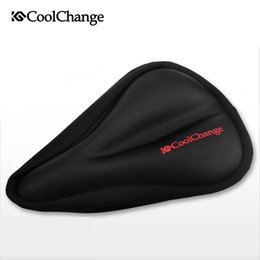 $enCountryForm.capitalKeyWord NZ - CoolChange Bicycle Seat Mountain Bike Cover Silica Gel Comfortable Cushion Cycling Seat Cushion Thickening Saddle Accessories