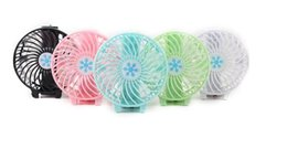 $enCountryForm.capitalKeyWord Australia - Handy Usb Fan Foldable Handle Mini Charging Electric Fans Snowflake Handheld Portable For Home Office Gifts RETAIL BOX